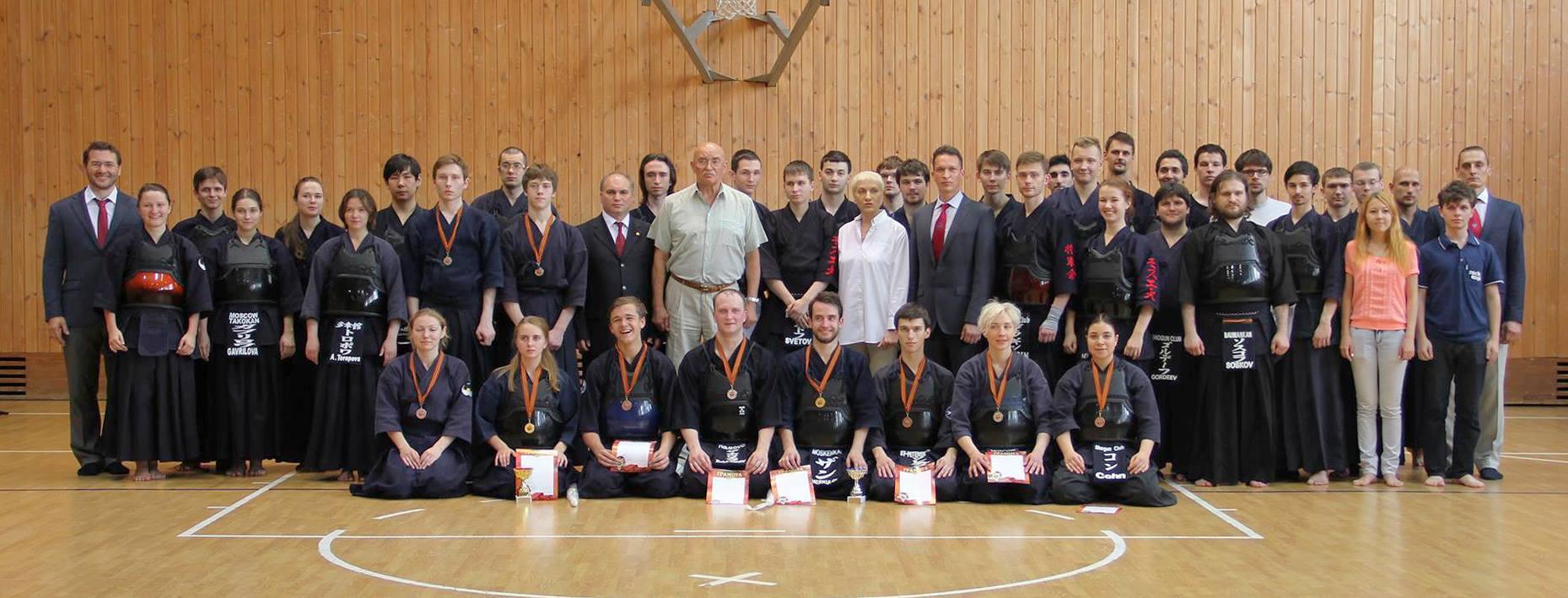 1-й Студенческий Чемпионат по Кендо и 4-й Открытый Турнир по Кендо среди Молодёжи и Студентов