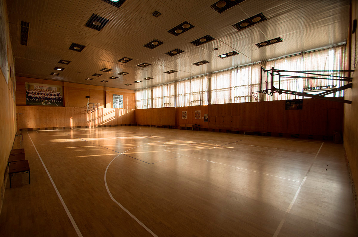 Изменение в расписании тренировок в спортзале № 2