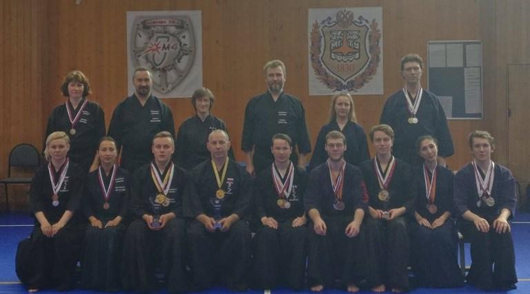 Поздравляем победителей и призёров VI Открытого Летнего Турнира по иайдо в Бауманском Университете