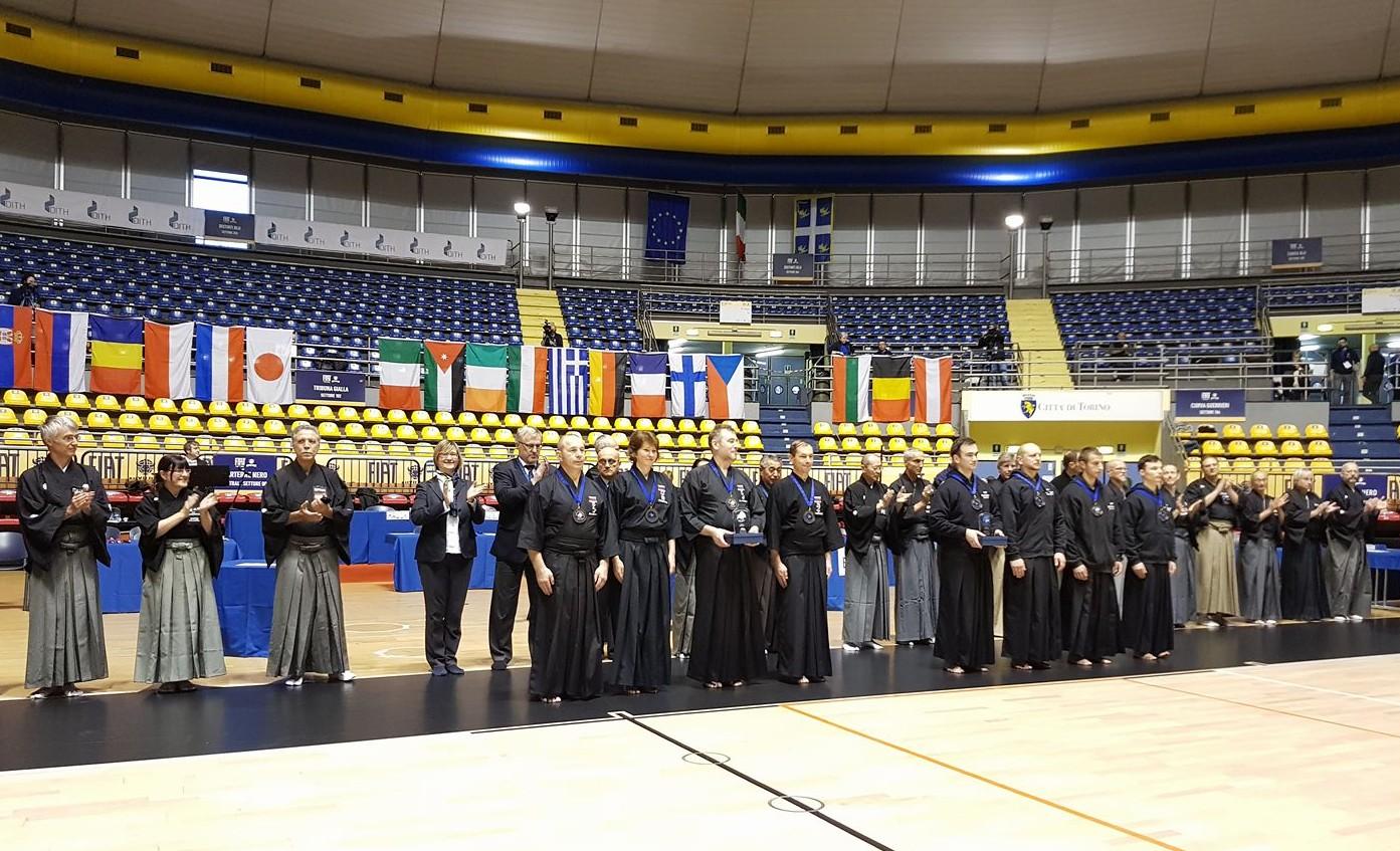 Российская сборная — бронзовый призер XXIV Чемпионата Европы по иайдо. ПОЗДРАВЛЯЕМ!