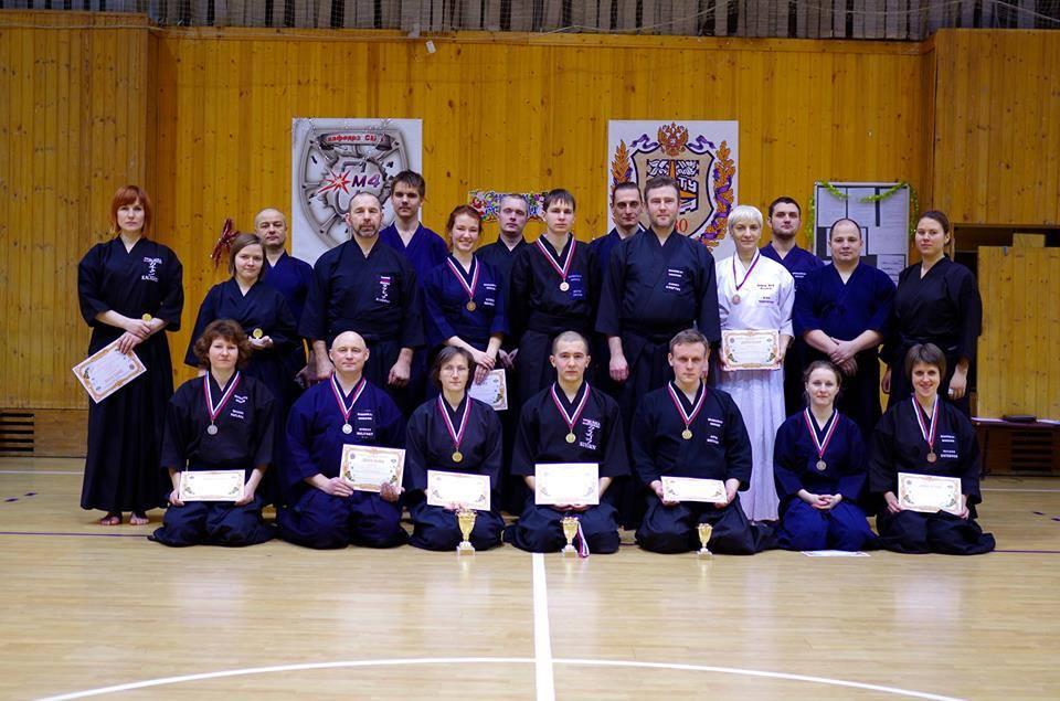 Результаты соревнований 3-го Зимнего турнира по иайдо в Бауманском университете