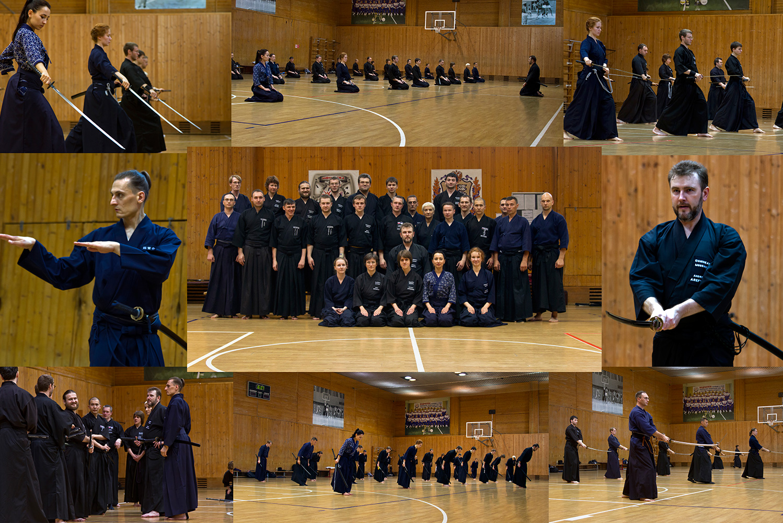 Семинар по иайдо под руководством Андрея Арефьева (5-й дан иайдо) прошёл в Спорткомплексе Бауманского университета