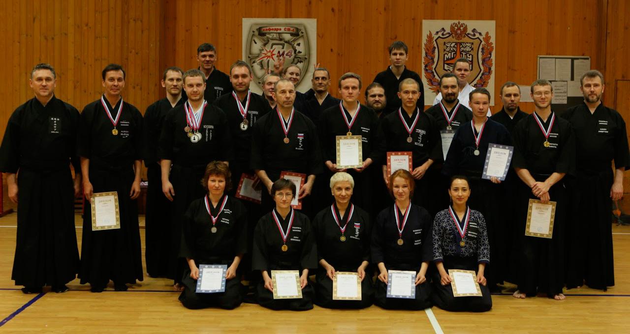 Результаты соревнований 3-го Всероссийского открытого турнира по иаидо Российской федерации кендо, иаидо, дзёдо