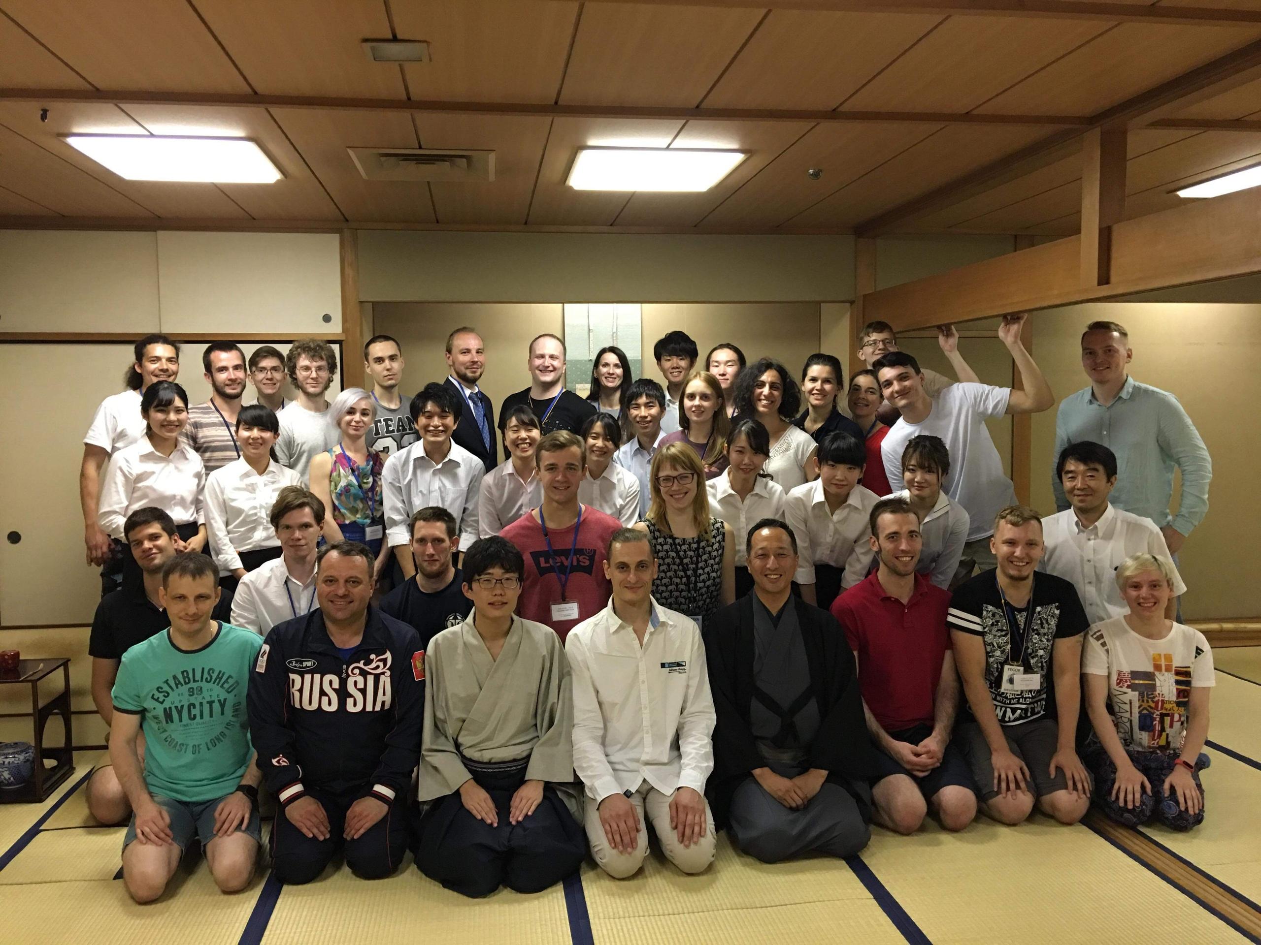 Официальный визит делегации Российской федерации кендо в Японию в июле 2018 года